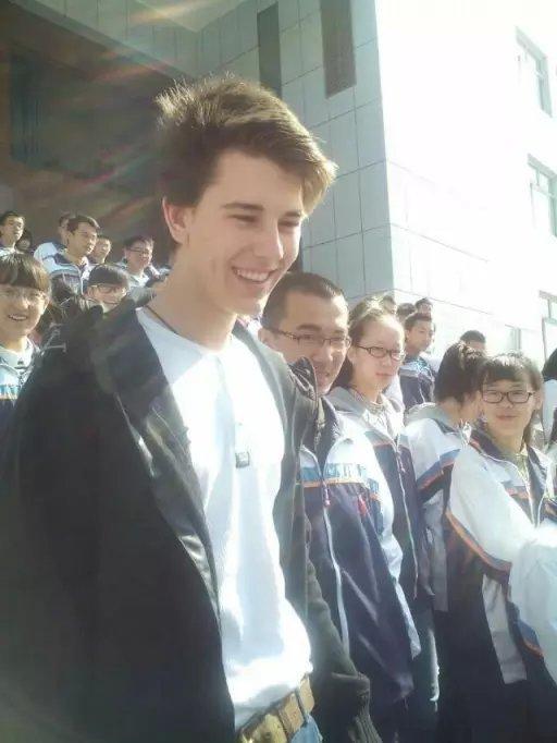16岁德国学生帅哥