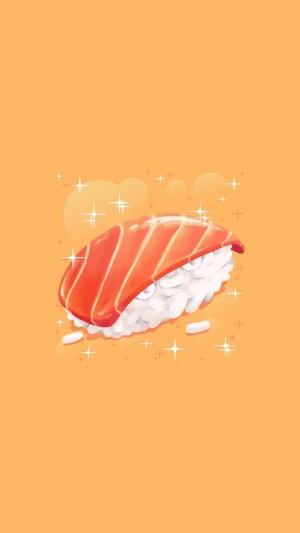 清新美味的美食插画图片壁纸