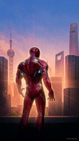 《复仇者联盟4》钢铁侠最新海报