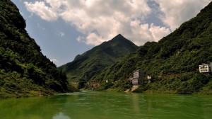 重庆龚滩古镇秀美风景高清桌面壁纸