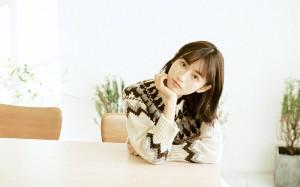 清纯日系美女高清桌面壁纸