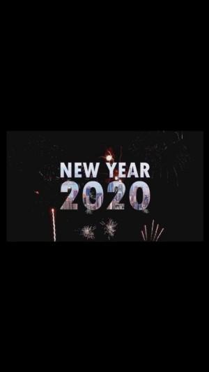 2020年简单数字创意个性图片壁纸