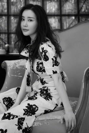 舒畅优雅长裙魅力图片壁纸