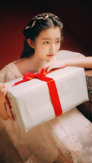 在发光的古典少女柴蔚梦幻童话写真