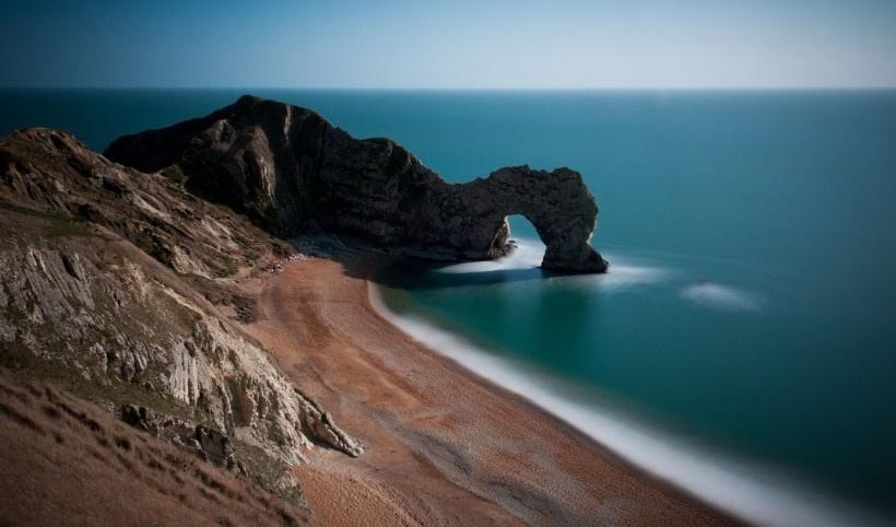 英格兰海岸线上的绝美风景