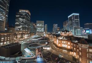 东京车站夜景
