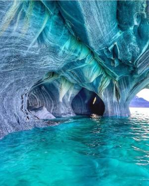 智利大理石洞穴