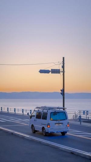 日系清新梦幻海岸风景摄影