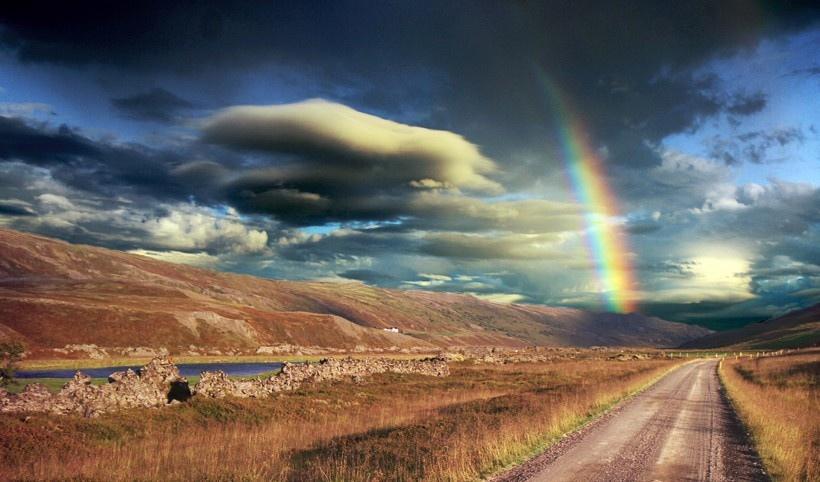夏天的彩虹