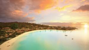 斐济浪漫梦幻风景高清桌面壁纸