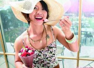 美女法网冠军李娜秀清新写真