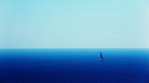 海天一色唯美自然风光桌面壁纸