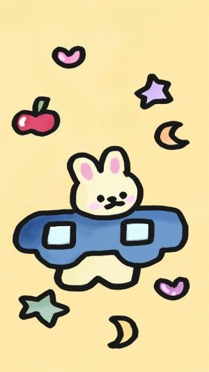 卡通萌趣创意可爱小熊插画手机壁纸 第二弹