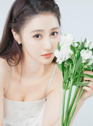 马泽涵清新甜美写真图片