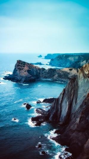 海岸悬崖超美意境风光