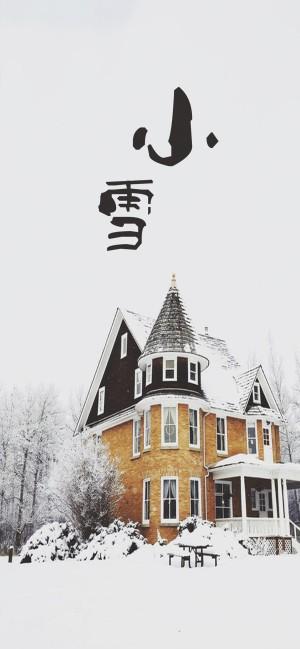 小雪时节之雪中城堡