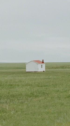 绿色草原迷人风景手机壁纸