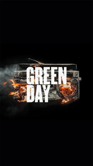 Greenday乐队超酷高清手机壁纸