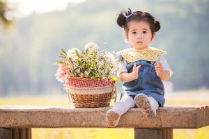 可爱女孩图片萌萌哒户外摄影高清写真