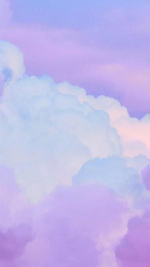 彩色云霞唯美高清手机壁纸