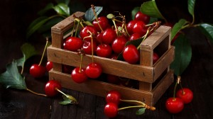 清新可口水果甜品桌面壁紙