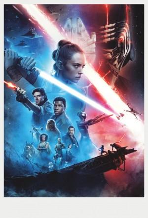《星球大战:天行者崛起》人物高清海报图片