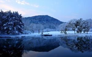 二十四节气之小雪美景图片
