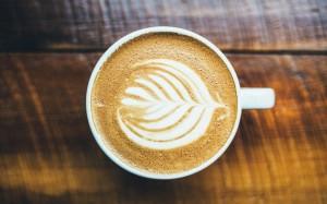 花式咖啡高清電腦桌面壁紙圖片