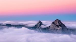 天空中的云朵风光美景图片壁纸