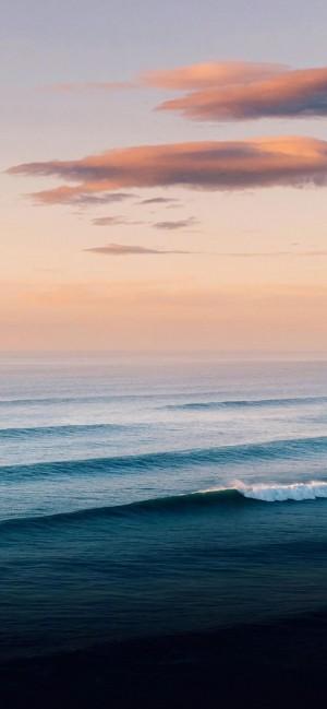 大海浪花唯美摄影风景手机壁纸