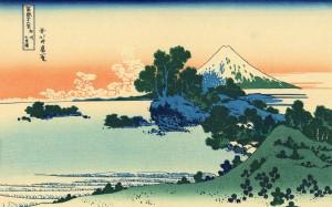 富岳三十六景浮世绘高清桌面壁纸第四辑