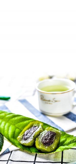 清明时节青团绿