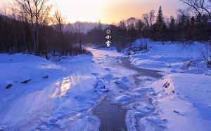 二十四节气之小雪雪景图片