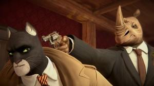 《黑猫侦探:深入本质》冒险卡通高清桌面壁纸