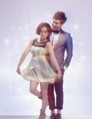 张檬张伦硕杂志写真图片