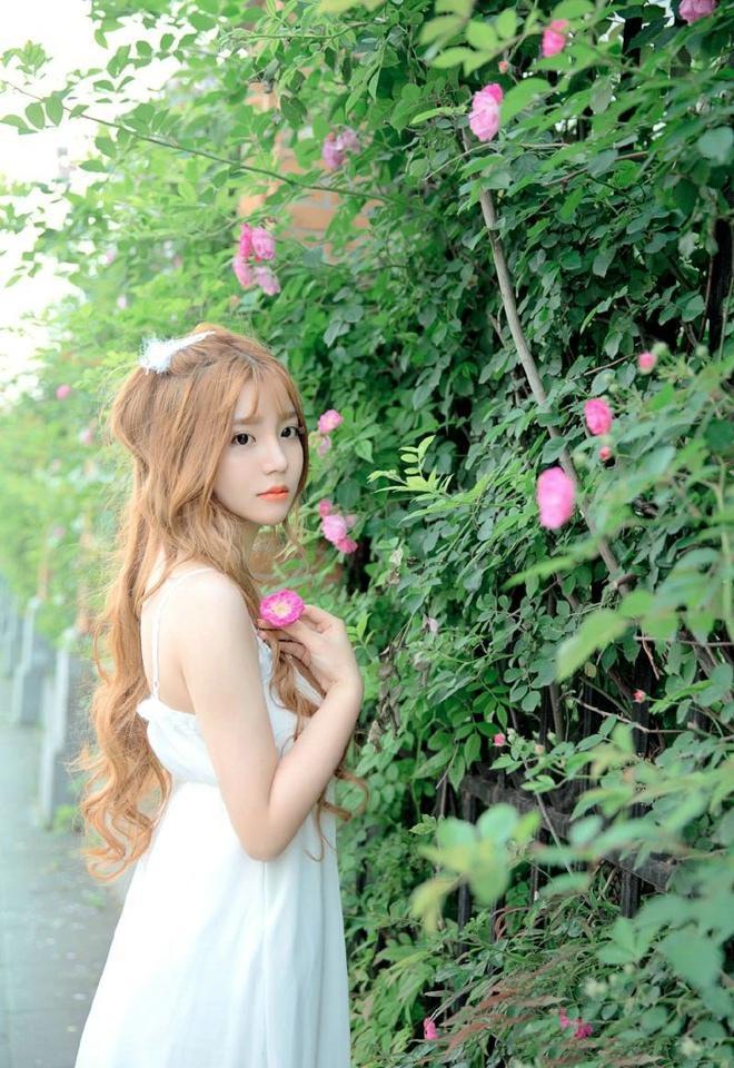 楚楚动人清纯甜美花仙子户外白皙粉嫩俏皮可爱唯美性感写真