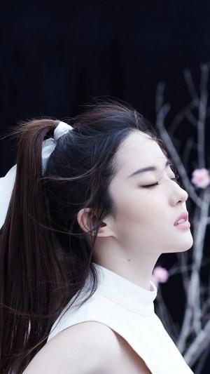 刘亦菲唯美侧脸写真