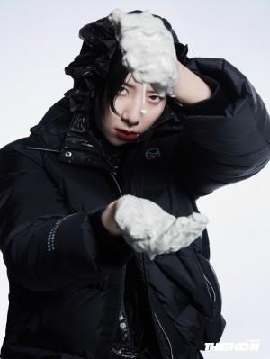 李斯丹妮THEICON装偶像十二月刊时尚封面写真