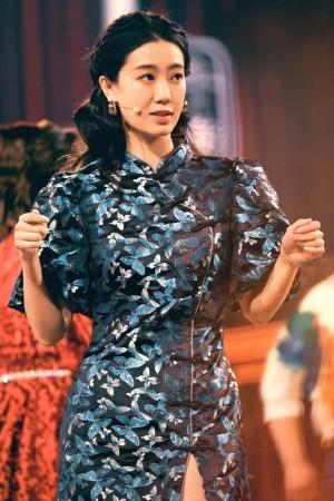 张小斐旗袍优雅舞台照