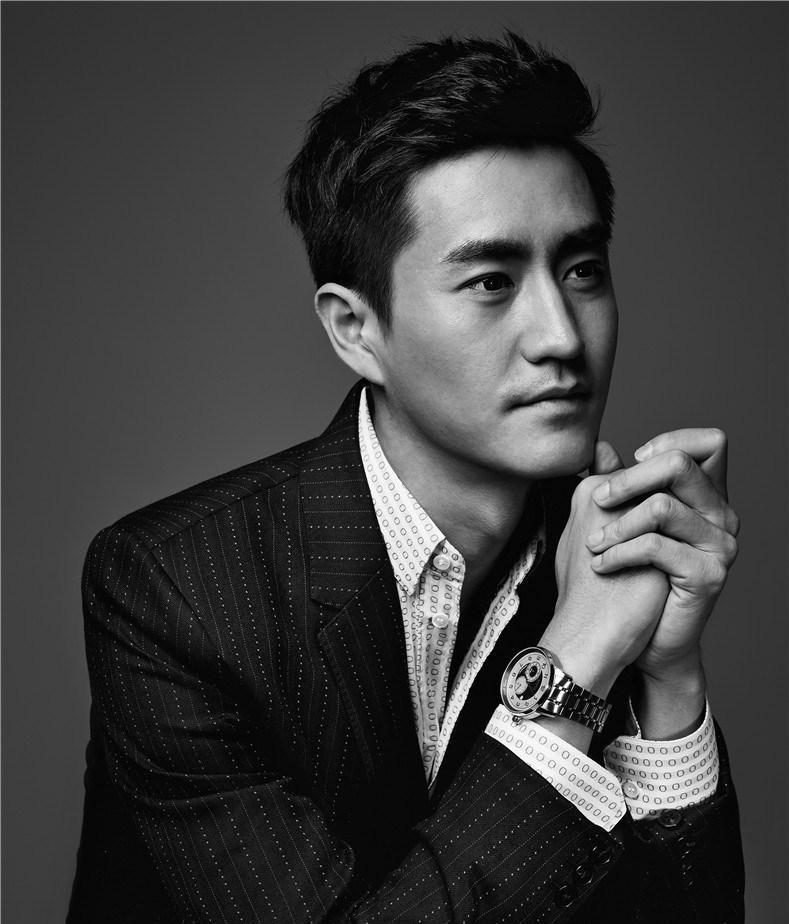 杨玏黑白摄影魅力写真