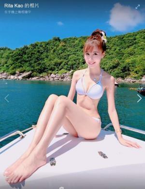 胸大腿长最美台湾空姐高钰雯私房图片