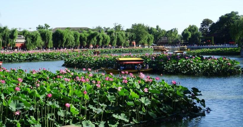 北京北海公园风景写真