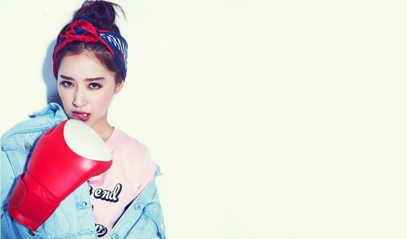 美女明星阚清子写真
