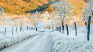 二十四节气之立冬景色高清电脑壁纸