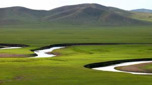 内蒙古呼伦贝尔大草原自然风光