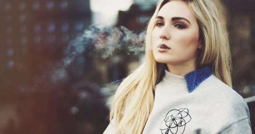 国外伤感颓废抽烟的女孩们