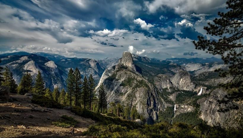 加利福尼亚州的自然风光
