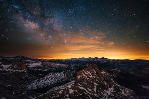 优胜美地国家公园星空风景壁纸
