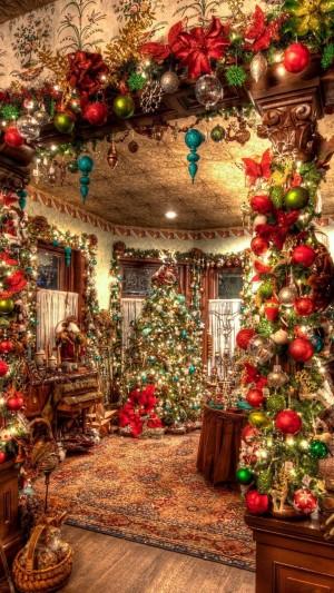 可爱的圣诞小屋