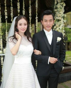 刘恺威杨幂巴厘岛大婚甜蜜婚纱照